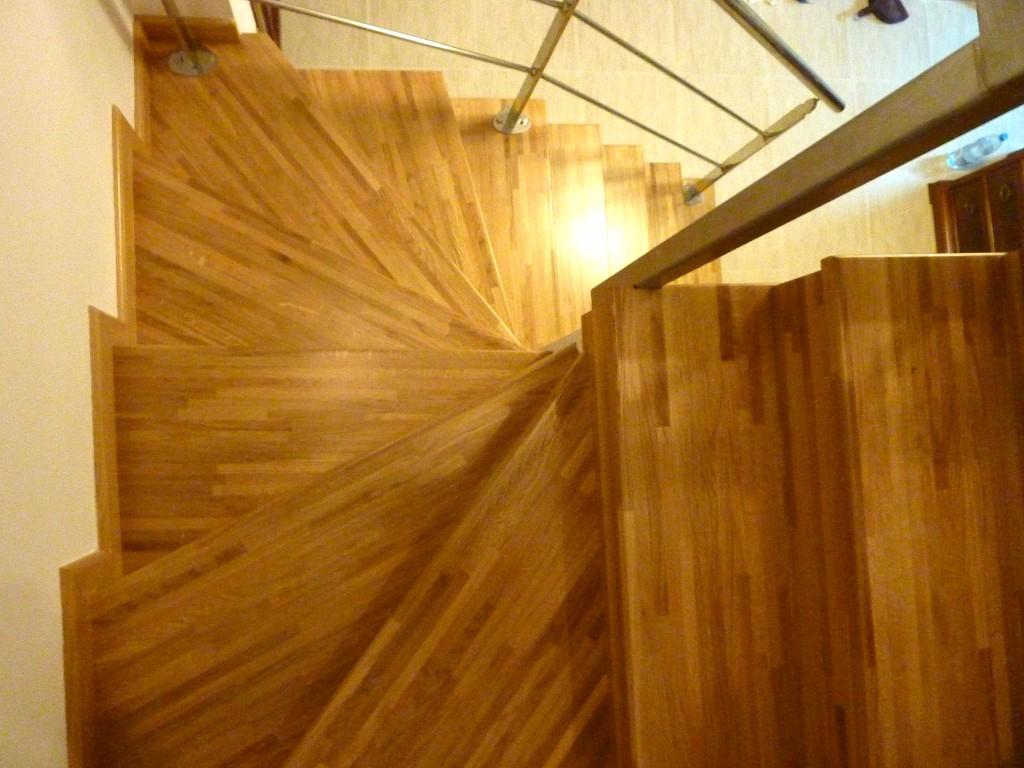 Escaleras interiores de madera stunning bonito diseo - Escaleras de madera para interiores ...