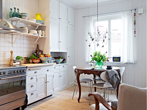 Cocinas modernas y vintage - Cocinas retro vintage ...