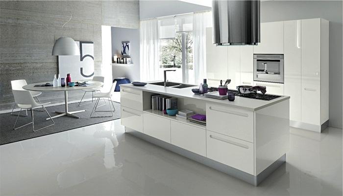 cocinas modernas y vintage -